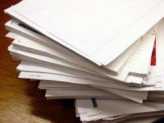affidavit-stack